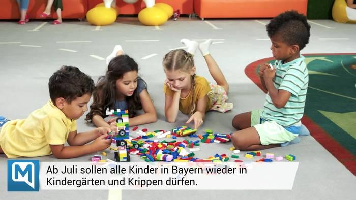 News video: Corona in Bayern: Große Ankündigung für Kita-Eltern