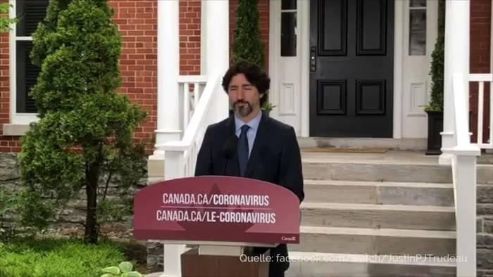 News video: 20 Sekunden: Trudeau schweigt auf Frage zu Trump