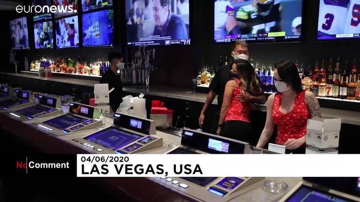 News video: Las Vegas: Glücksspiel mit Hygieneauflagen