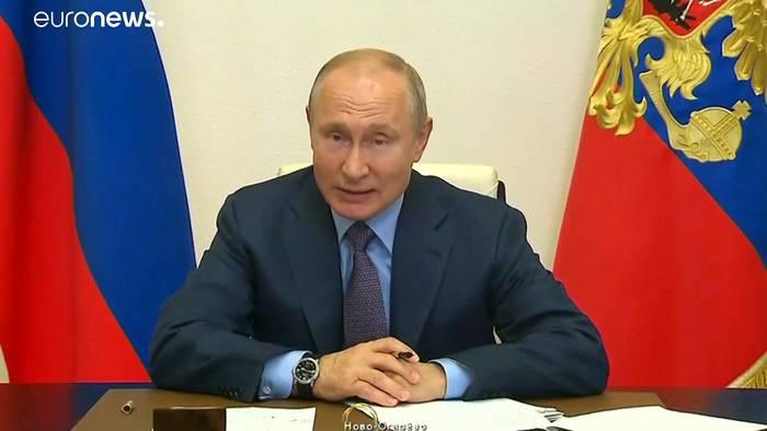 News video: Putins Anpfiff wegen der Ölpest