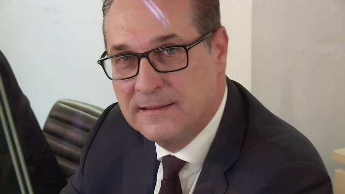 News video: Strache weist Vorwurf des Postengeschachers zurück