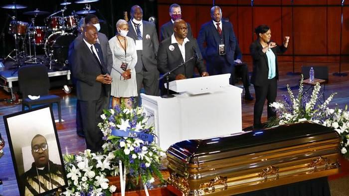 News video: Minneapolis: Bewegende Trauerfeier für George Floyd