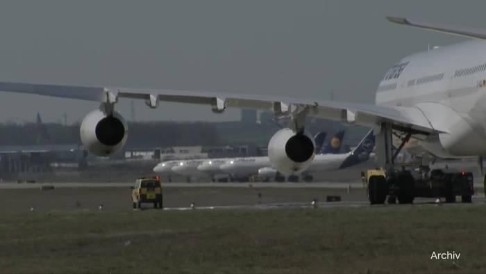 News video: Lufthansa fliegt aus dem Dax