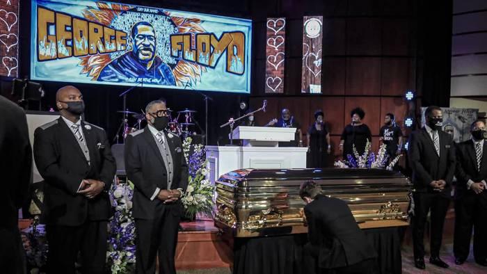 News video: Trauerfeier für George Floyd: «Alle wollen Gerechtigkeit»