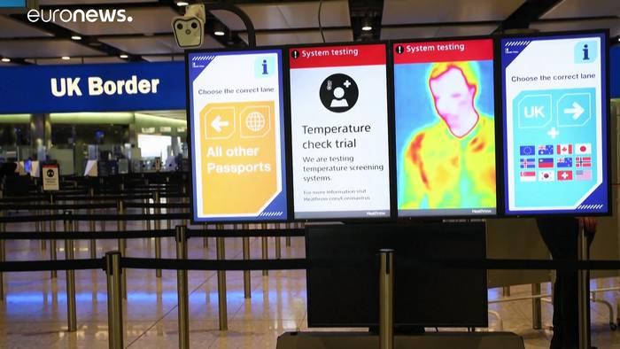Video: Großbritannien: Quarantäne-Pflicht für Einreisende gilt ab heute