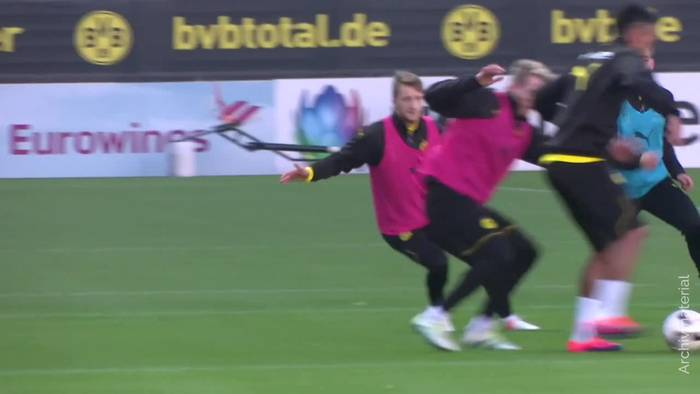 News video: Nationalspieler Reus: Rückkehr ins BVB-Teamtraining