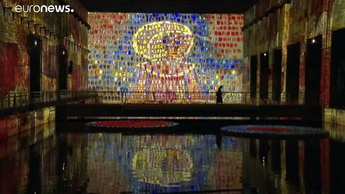 News video: Riesen-Hype um Klimt und Klee in Bordeaux: Eintauchen in den Bunker (VIDEO)