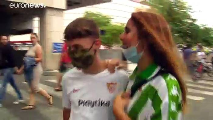 News video: La Liga in Spanien: 2:0 im Sevilla-Derby nach 3 Monaten Corona-Pause