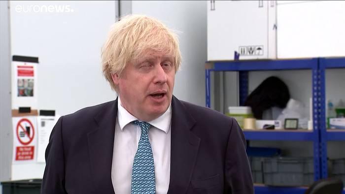 News video: Denkmalschutz à la London: Winston Churchill hinter Sperrholz