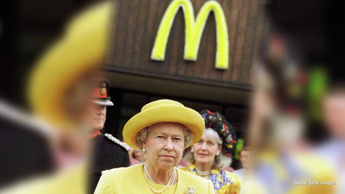 Video: Queen Elizabeth II.: Darum besitzt sie eine McDonald's-Filiale