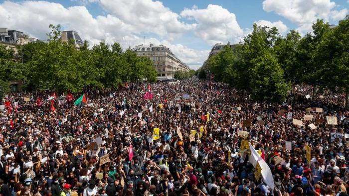 News video: Frankreich: Demos gegen Polizeigewalt -