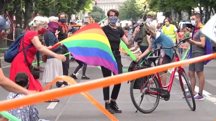Video: Gegen Rassismus - «Unteilbar»-Demos in vielen Städten