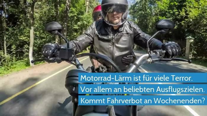 News video: Bundesrat will Motorrad-Lärm verbieten lassen