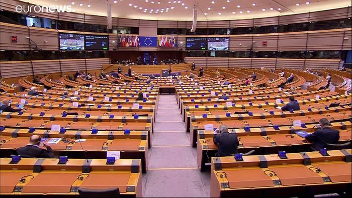 News video: Kritik an Hongkong-Politik Chinas im Europäischen Parlament