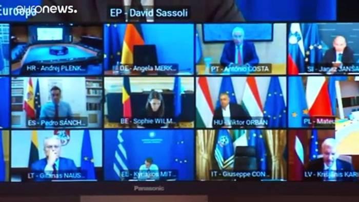 News video: EU-Corona-Gipfel: Kein Durchbruch, aber Hoffnung