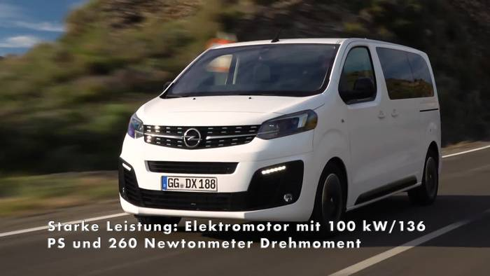 Video: Neuer Opel Zafira-e Life - Emissionsfrei Reisen auf Top-Niveau