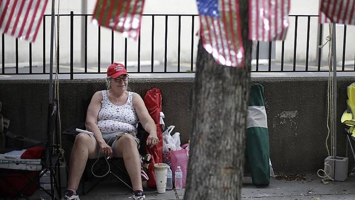 News video: Tulsa: Warten auf Trump
