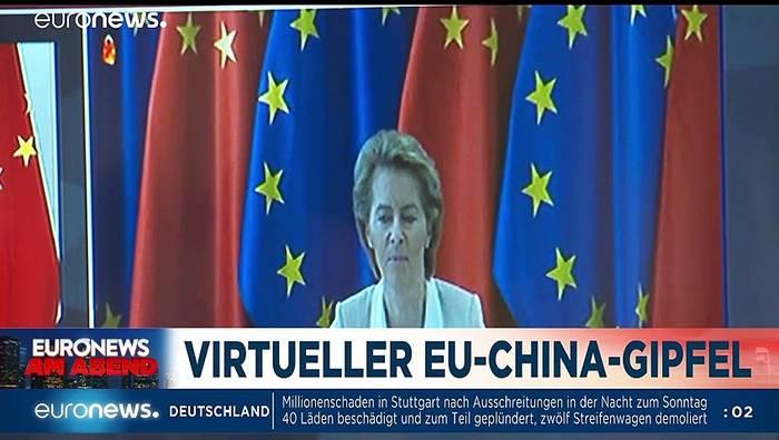 Video: Auf die Insel? Euronews am Abend vom 22.06.