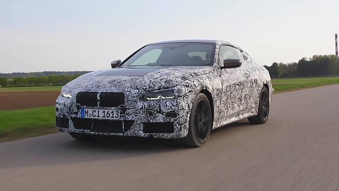 Video: Das neue BMW 4er Coupé in der finalen Phase seiner fahrdynamischen Erprobung