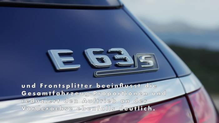 Video: Der neue Mercedes-AMG E 63 S 4MATIC+ T-Modell Highlights