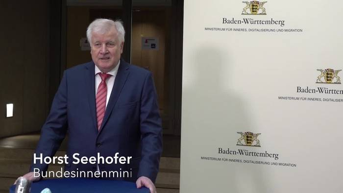Video: Nach Stuttgarter Chaos-Nacht - Seehofer für harte Strafen