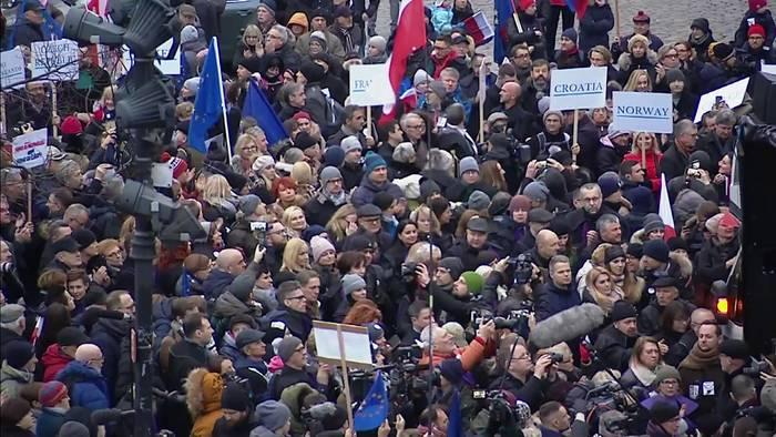 Video: EU pocht auf Rechtstaatsprinzipien