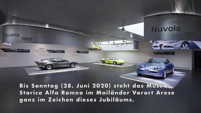News video: Werksmuseum pünktlich zum 110. Geburtstag von Alfa Romeo wieder offen