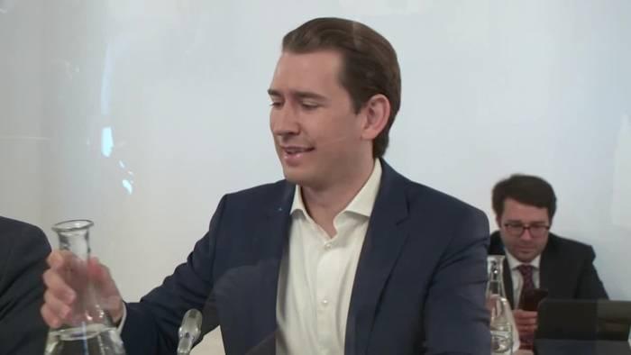 News video: Österreichs Kanzler Kurz vor Ibiza-Untersuchungsausschuss