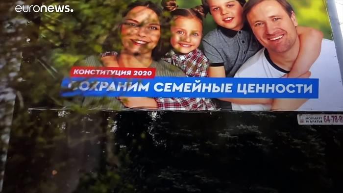 News video: Russische Verfassungsänderung: Diskrimierung von LGBT nimmt zu