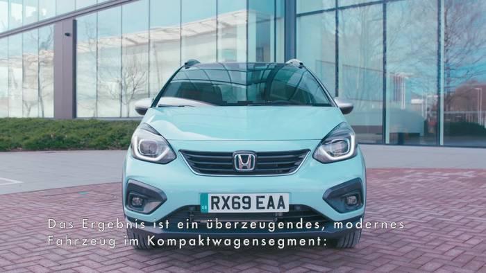 News video: Der neue Honda Jazz Crosstar - Modernes, klares und kompaktes Design für den neuen Jazz