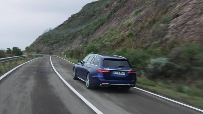 News video: Der neue Mercedes-AMG E 63 S 4MATIC+ T-Modell - Markanteres Design, verbesserte Aerodynamik und mehr Komfort