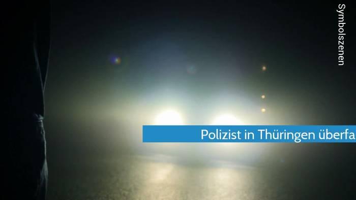 News video: Polizist mehrfach überfahren - schwer verletzt nach Verkehrskontrolle
