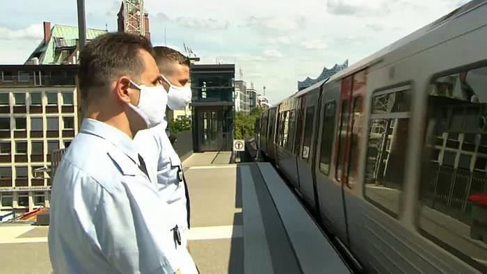 Video: Hamburg: Menschen haben keine Lust auf Masken