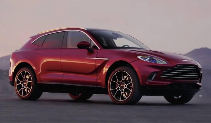 News video: Aston Martin enrhüllt den DBX - Einen SUV mit der Seele eines Sportwagens