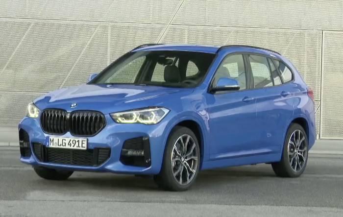 News video: Der neue BMW X1 xDrive25e - Exterieur Design