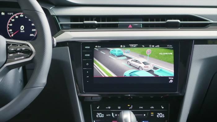News video: Der neue Volkswagen Arteon - Neue Cockpitlandschaft im Interieur