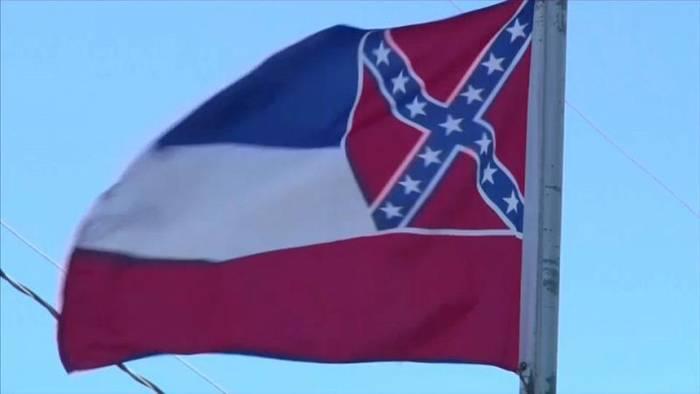 News video: Mississippi holt umstrittene Flagge ein