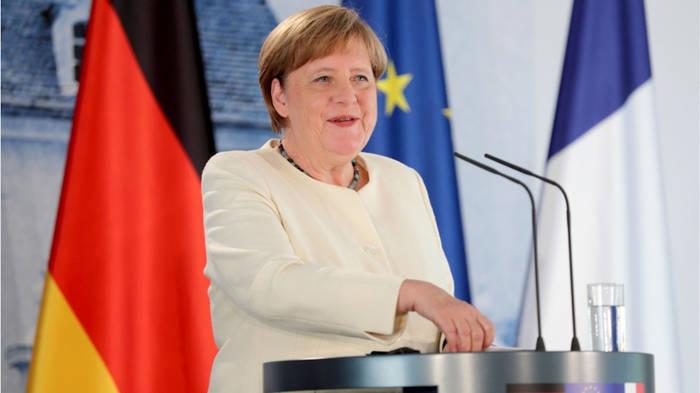 News video: Deshalb ist Angela Merkel nie mit Maske zu sehen