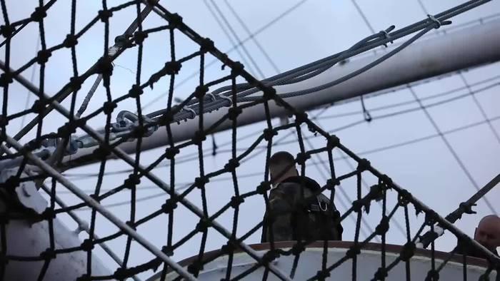 News video: Gorch Fock 1 bekommt zeitweilig neuen Liegeplatz