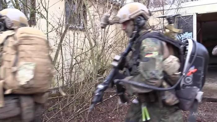 News video: Kramp-Karrenbauer will Elitetruppe KSK teilweise auflösen