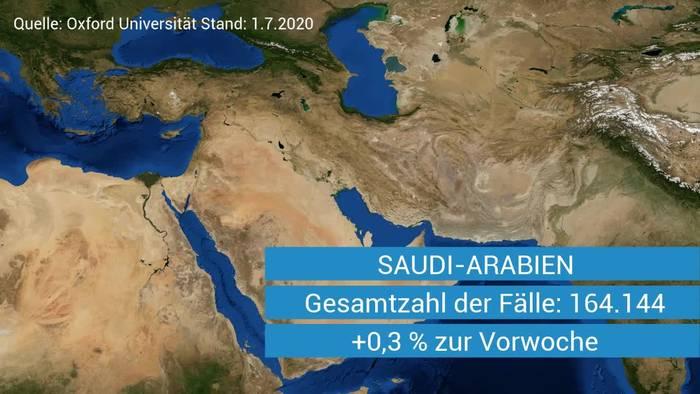 News video: Diesen zehn Ländern droht die zweite Welle - Deutschland ist auch dabei