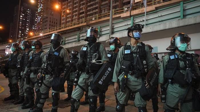 News video: Sicherheitsgesetz in Hongkong: Die Polizei greift zu