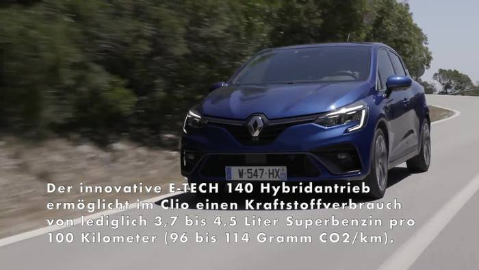 News video: Neuer Renault Clio E-TECH startet bei 21.640 Euro