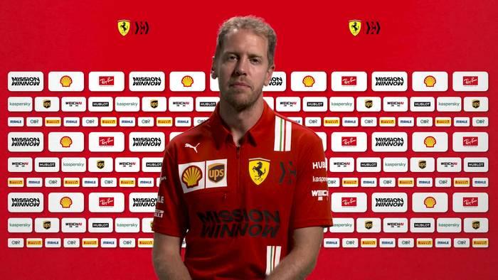 Video: Sebastian Vettel wieder auf Kurs kommen