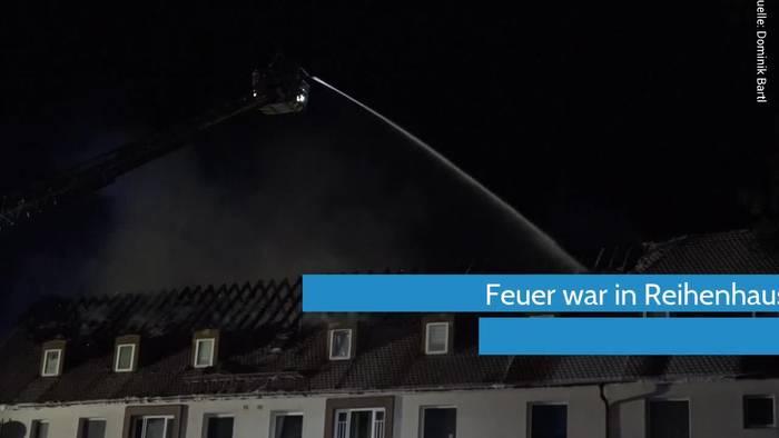 News video: Flammenmeer nach Blitzeinschlag in Bayern