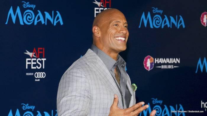 """""""The Rock"""" auf Instagram: Über 1 Million Dollar pro Post"""