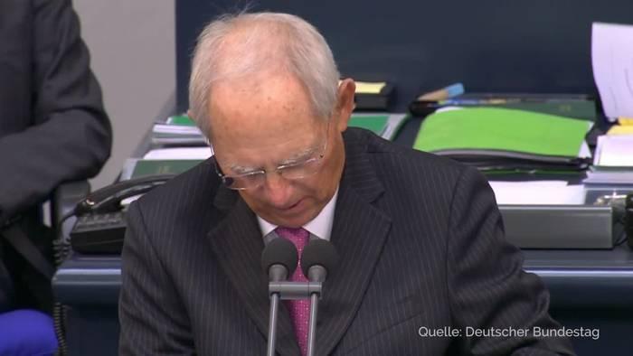 News video: Bundestag beschließt Nachtragshaushalt - Fast 218 Milliarden