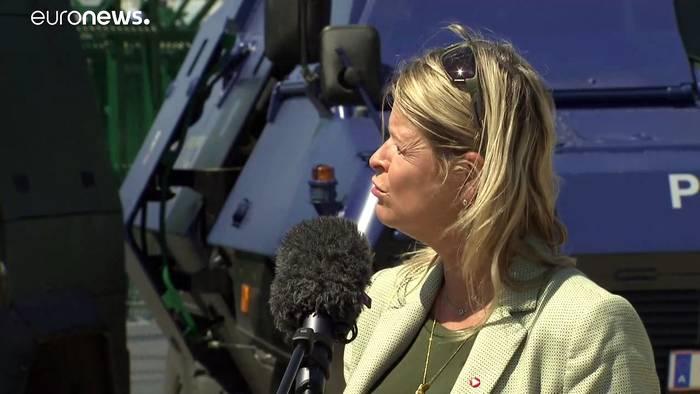 News video: Bilaterale Grenzschutzübung in Nickelsdorf: