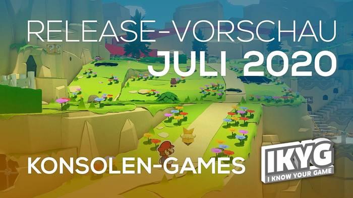 News video: Games-Release-Vorschau - Juli 2020 - Konsole
