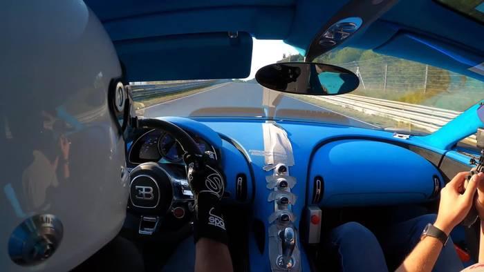 News video: Bugatti Chiron Pur Sport - Finale handling-fahrten auf der Nordschleife